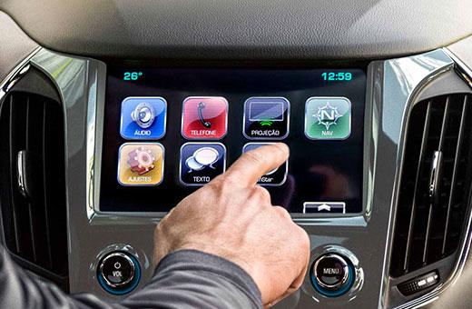 Painel Chevrolet Cruze Sport6 MyLink Nova Geração