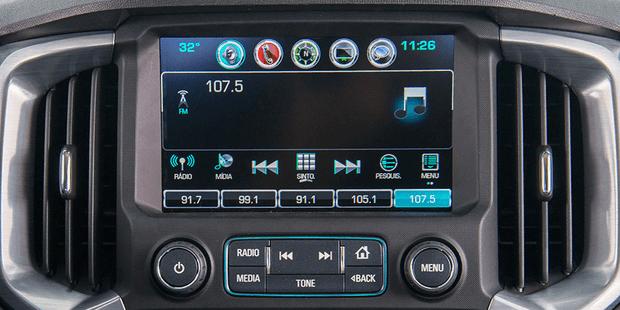 Computador de bordo da nova Chevrolet S10 Cabine Dupla 2019