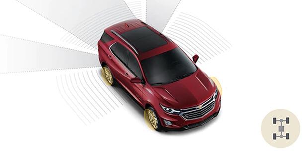 Controle eletrônico de estabilidade e tração Chevrolet Equinox 2019