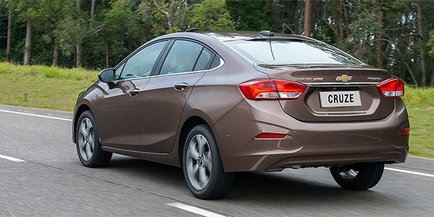 Potência e economia no novo Chevrolet Cruze 2020