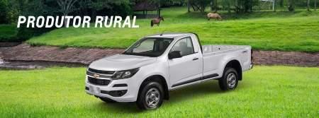 Comprar carros para Produtor Rural com descontos por vendas diretas Chevrolet
