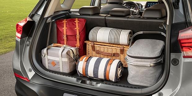 Porta-malas com espaço variável novo Tracker 2021