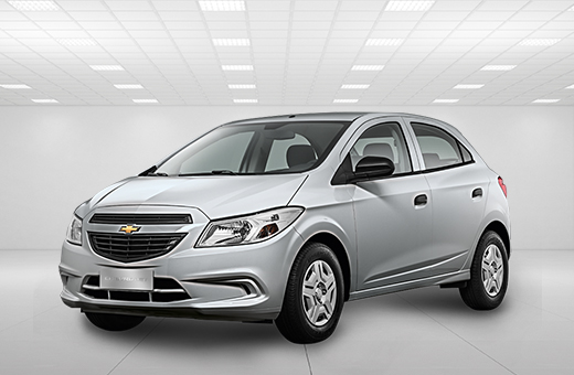 Cor do carro Chevrolet novo Onix Joy Prata Switchblade 2018