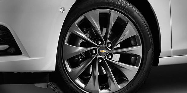 Roda de alumínio do Chevrolet Cruze 2018