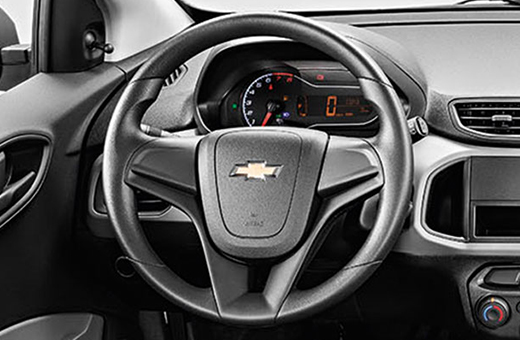 Volante direção elétrica progressiva novo Chevrolet Onix Joy 2018