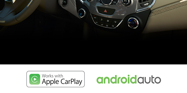 MyLink Android Auto Apple CarPlay Chevrolet Cruze 2018