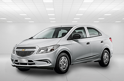 Cor do carro Chevrolet novo Prisma Joy Prata Switchblade 2017
