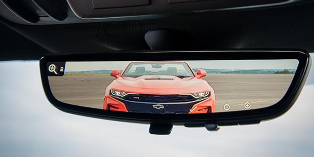 Espelho retrovisor com câmera embutida Camaro Conversível 2019