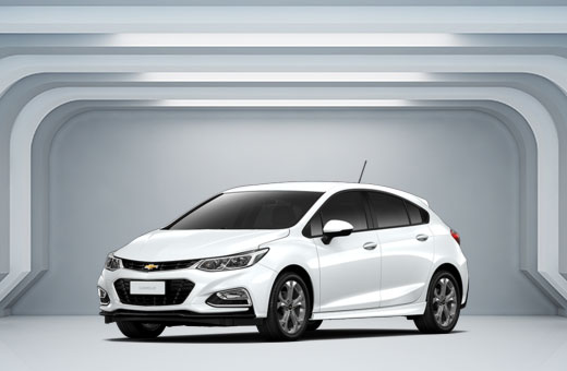 Cor do carro Chevrolet novo Cruze Sport6 Branco Summit (Sólida) 2017