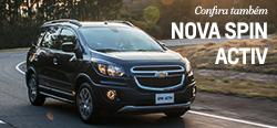 Conheça mais detalhes do modelo de carro Chevrolet Spin Activ 2017