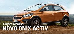 Conheça mais detalhes do modelo de carro Chevrolet novo Onix Activ 2019
