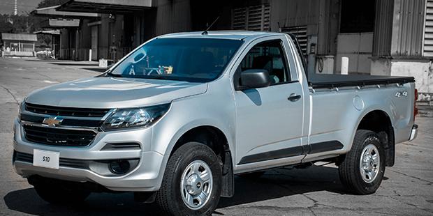 Design externo da nova caminhonete Chevrolet S10 Cabine Simples 2019