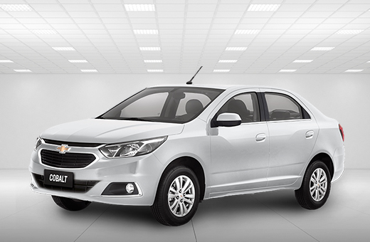 Cor do carro Chevrolet novo Cobalt Branco Summit 2019