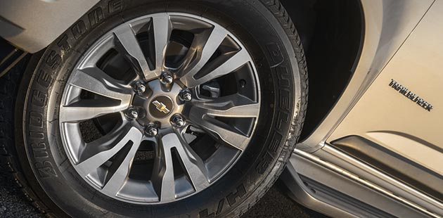 Roda e aro Chevrolet Trailblazer 2020