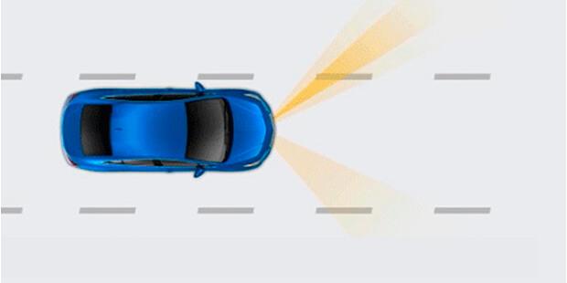 Alerta troca de faixa Chevrolet Tracker 2019