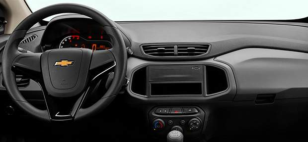 Design interno Chevrolet sedan Joy Plus 2021