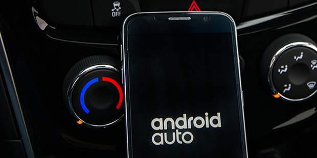 Android Auto conectado ao Painel com GPS do novo Chevrolet Cruze 2019.