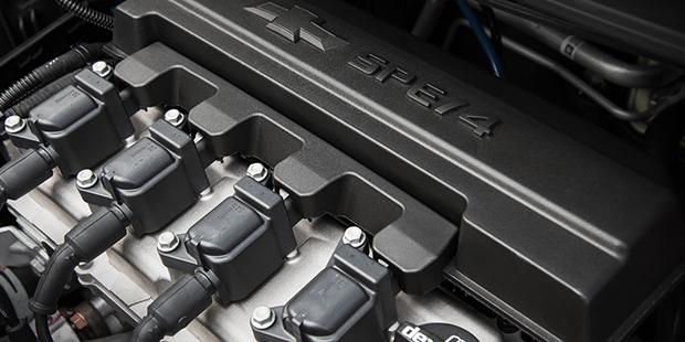 Motor 1.8 ECO Flex da nova minivan Chevrolet Spin 2019