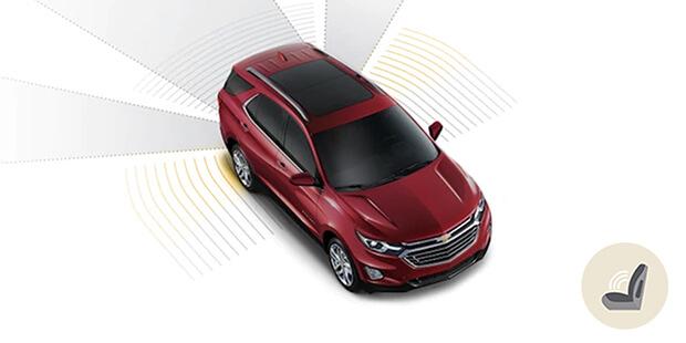 Alerta de esquecimento de pessoa ou objeto Chevrolet Equinox 2019