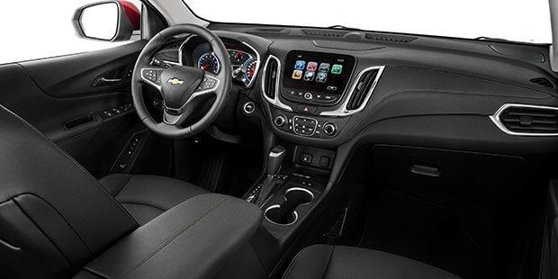 Painel do Chevrolet Equinox 2019