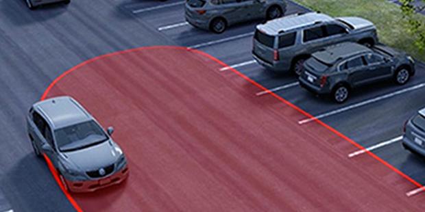 Alerta movimentação traseira Chevrolet Tracker 2018