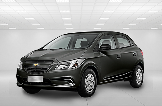Cor do carro Chevrolet novo Onix Joy Cinza Graphite 2017