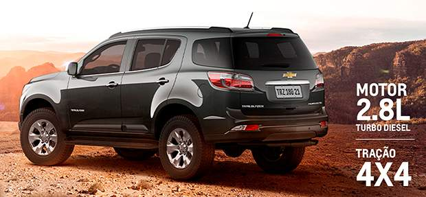 SUV Chevrolet Trailblazer 2021 com motor turbo diesel 2.8