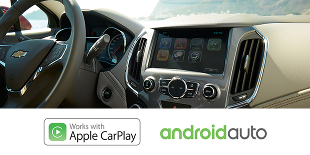Apple CarPlay Android Auto Chevrolet Cruze Sport6