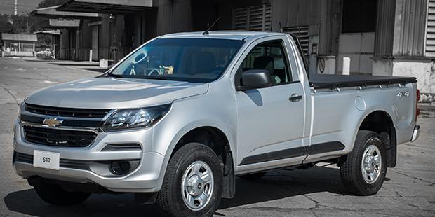 Exterior nova caminhonete Chevrolet S10 Cabine Simples 2019