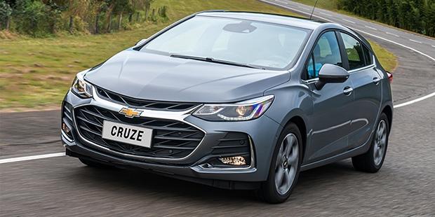 Chevrolet Cruze Sport6 2020 com potência e economia