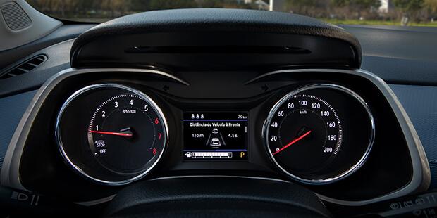 Painel de instrumentos novo Chevrolet Tracker 2021