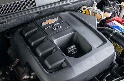 Motor 2.8 Turbo Diesel com 200 cavalos Trailblazer 2018