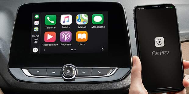 Tecnologia Apple CarPlay no Onix Plus 2020