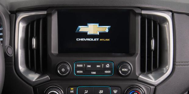 Computador de bordo MyLink da nova Chevrolet S10 Cabine Dupla 2019