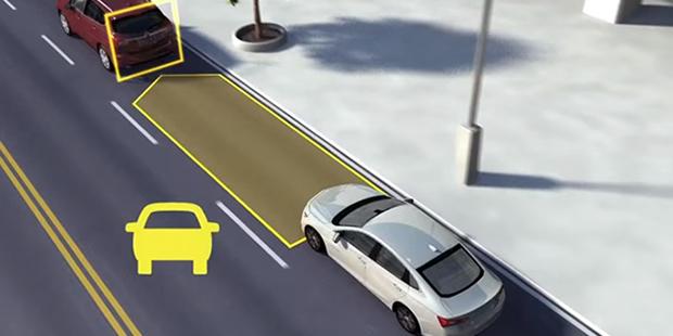 Sensor de Alerta de Colisão do novo Chevrolet Trailblazer 2019