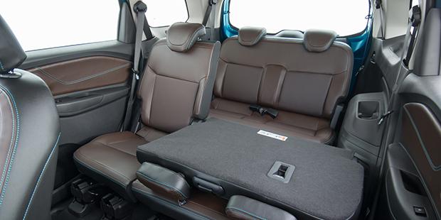 Interior da nova minivan Chevrolet Spin 2019