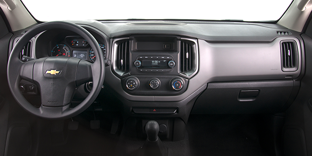 Painel nova caminhonete Chevrolet S10 Cabine Simples 2019