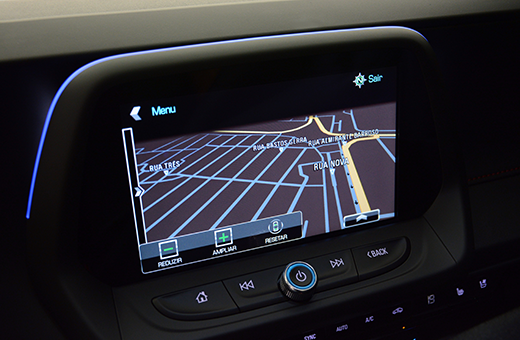 Tecnologia Chevrolet Mylink do Camaro Cupê SS 2017