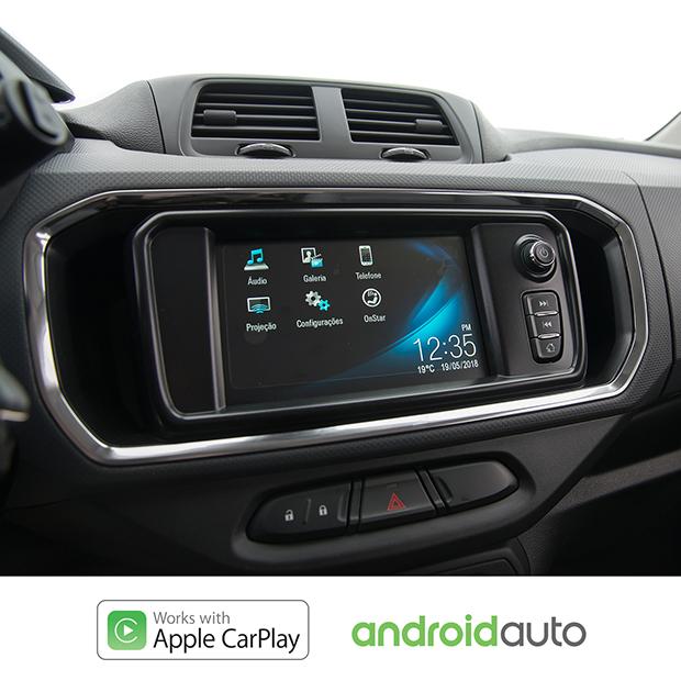 Chevrolet MyLink da nova minivan Spin Activ 2019