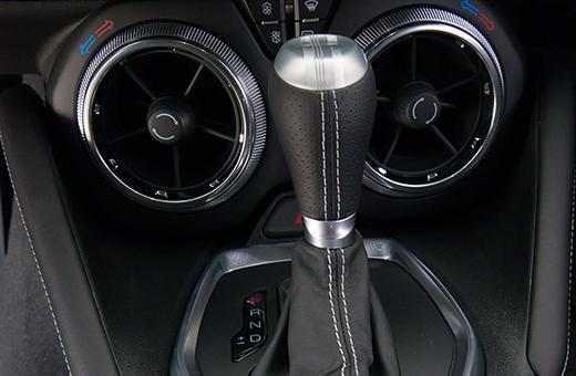 Câmbio automático do Camaro SS Cupê 2017