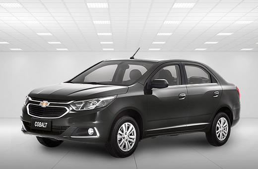 Cor do carro Chevrolet novo Cobalt Cinza Graphite 2018