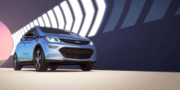 Desacelere apenas puxando a alavanca no volante do novo Chevrolet Bolt EV 2019