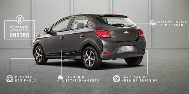 Itens de segurança do novo Chevrolet Onix 2019