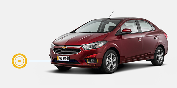 Farois Neblina Led Chevrolet Sedan Prisma 2019