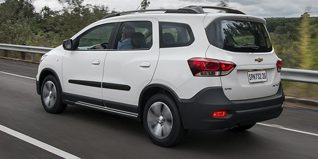 Confira os acessórios de segurança do Spin Activ 2019, o novo carro de 7 lugares da Chevrolet