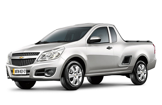 Comprar pickup Chevrolet Montana prata 2017