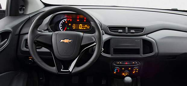 Tecnologia do novo Chevrolet Joy 2021