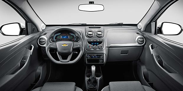 Painel nova Chevrolet Montana 2019