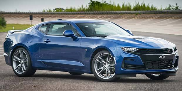 Design do Chevrolet Camaro Cupê SS 2019