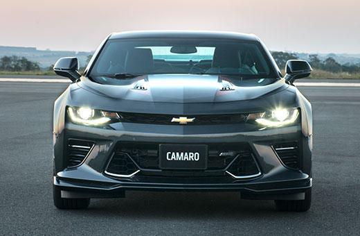 Frente novo Chevrolet Camaro Fifty 2017